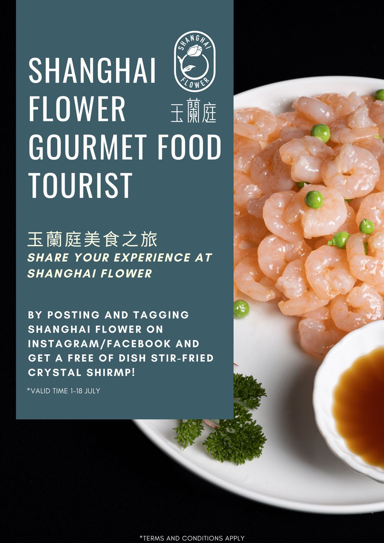 shanghai flower food tourist